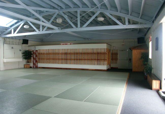 Makoto Aikido Dojo Basement Gym Gym Interior Gym Bar