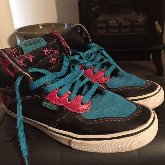 4e6775dfc5b Punkrose Sneakers- 7.5 Black