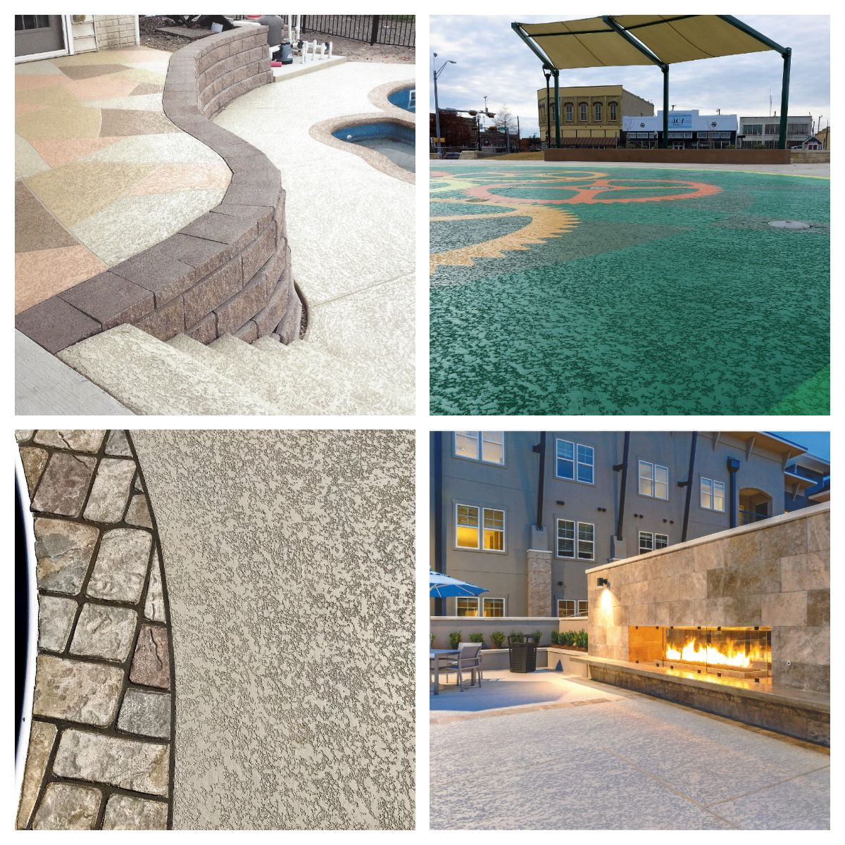 Remodeling Your Pool Deck Decorative Concrete Resurfacing Combines Form And Function At An Econ Pool Decking Concrete Backyard Pool Designs Decks Around Pools