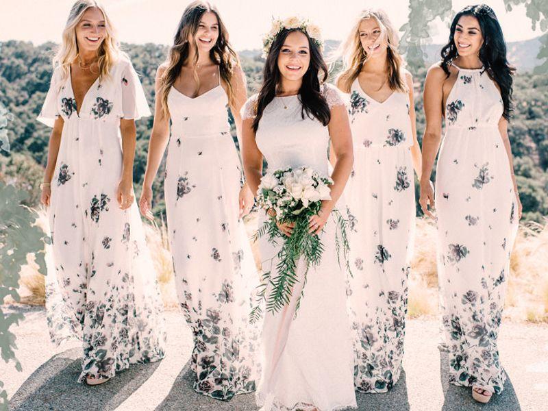 b3c6f9921f4 18 Non-Traditional Bridesmaid Dresses For Unique Stylish Girls ...