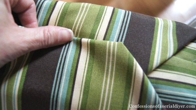 Sew Easy Outdoor Cushion Covers (Part 1) | Confessions Of A Serial Do