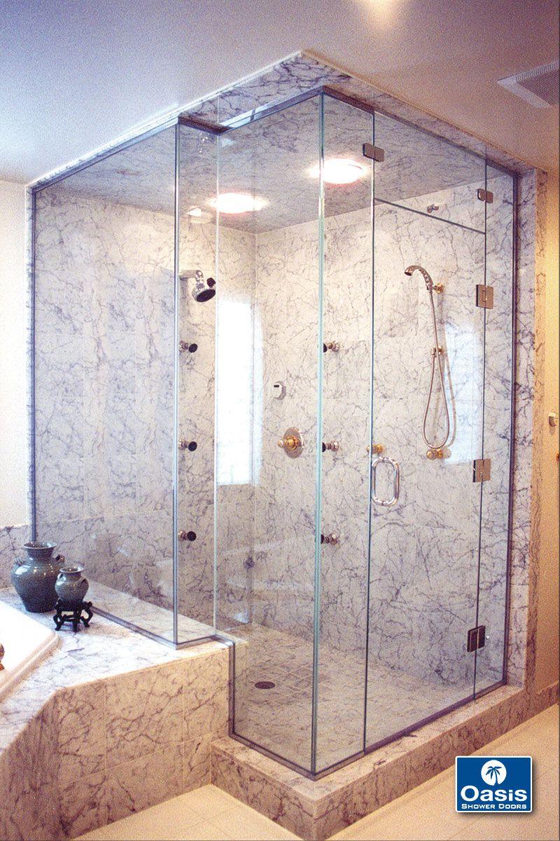 Frameless Shower Doors Panels Oasis Shower Doors Ma Ct Vt Nh In 2020 Bathroom Shower Doors Shower Doors Frameless Sliding Shower Doors