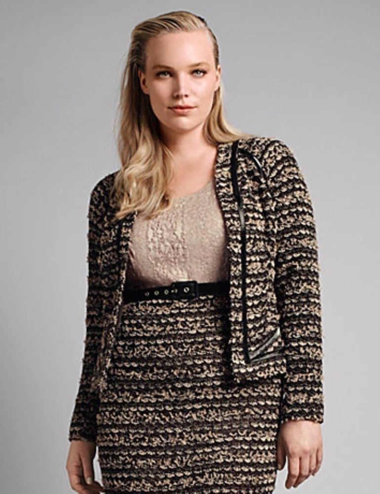 98d6189a90c Lane Bryant Bounce Knit Jacket Plus Size by Isabel Toledo Size 14 RT  198   LaneBryant  Sheath  WeartoWork