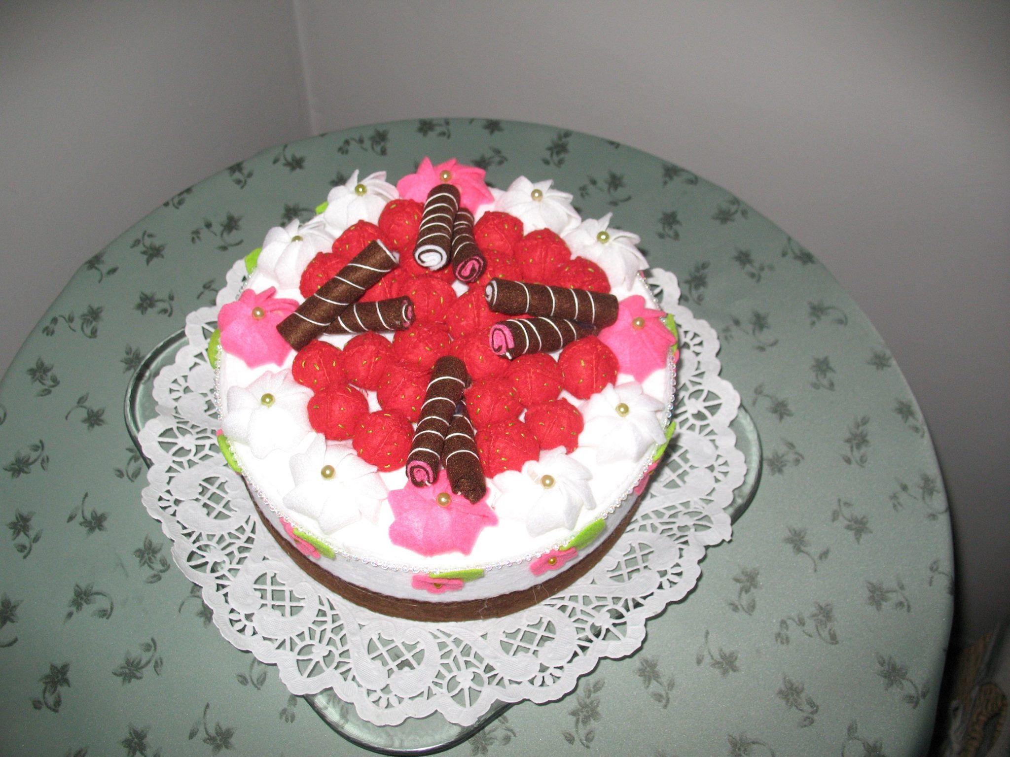 Mijn feest taart is klaar