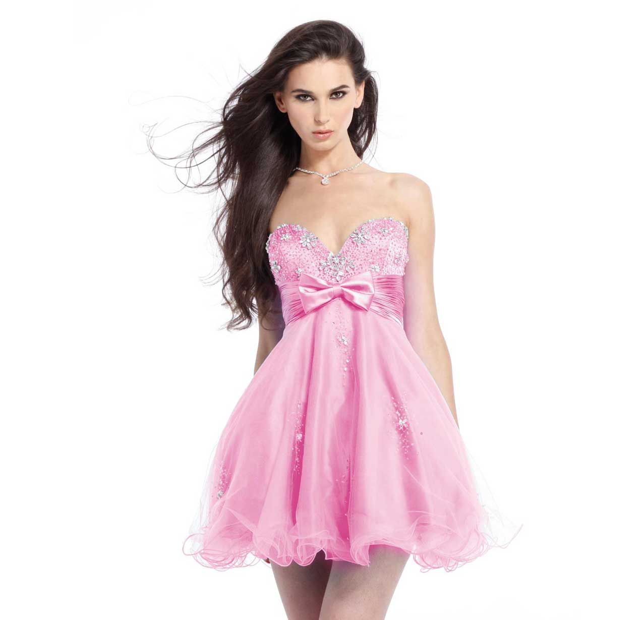 short-pink-wedding-cocktail-prom-dress- | Short Prom Dress ...