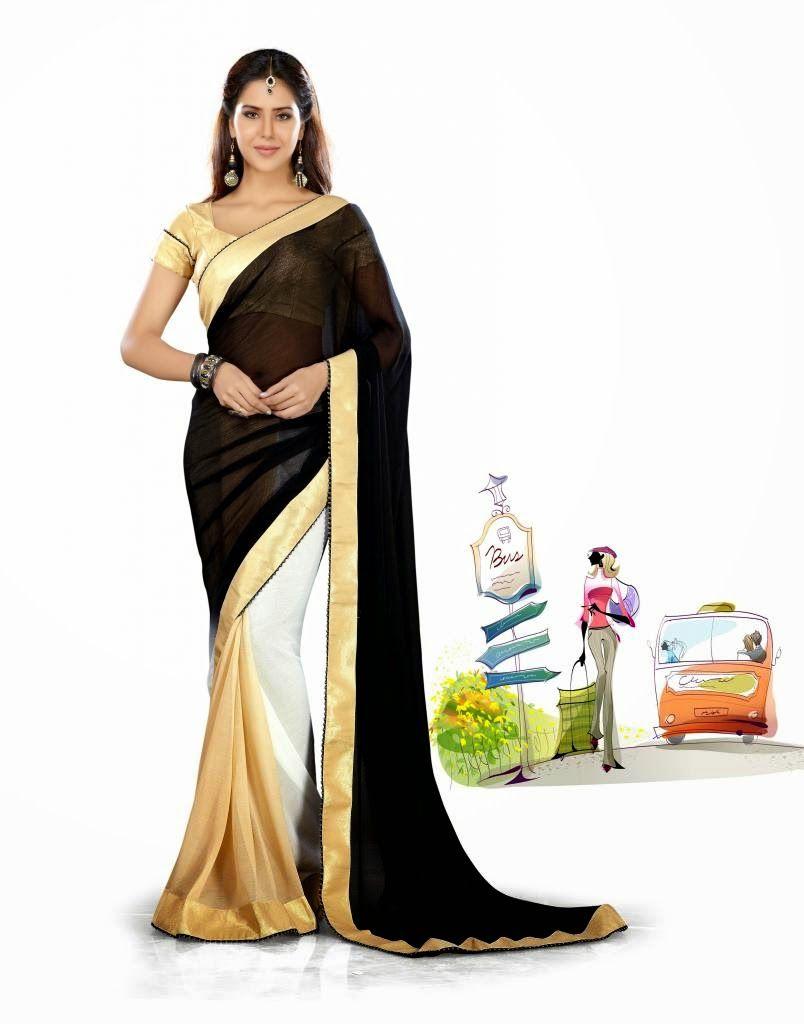 http://www.a1designerwear.com/delicate-black-fashion-saree