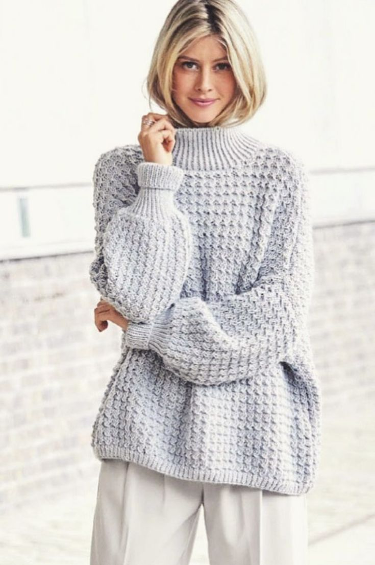 30+ Free Crochet Sweater Patterns Perfect For Chilly Days ...