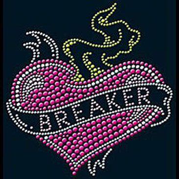 Heart Breaker Rhinestone Hoodie