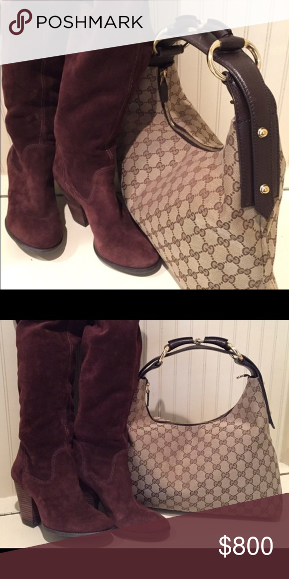 0a334c30b60 Beautiful Authentic Gucci handbag! Beautiful Authentic Gucci handbag! Dust- bag included. Like new! Rarely ever used! More pics to come!