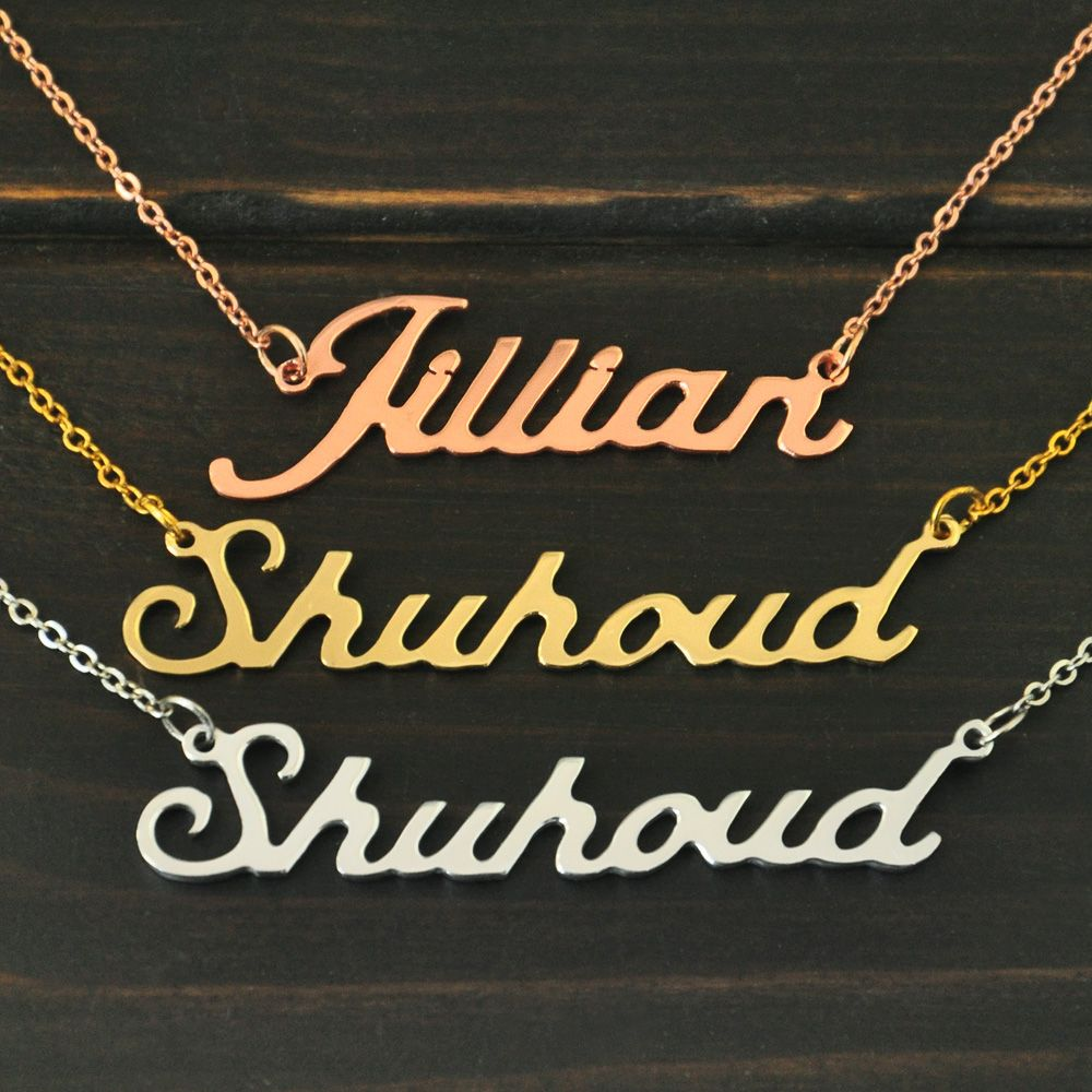 Personalized necklacename necklacecustom name necklace
