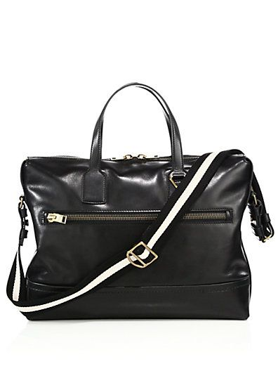 Bally Novo Leather Business Bag Bags Shoulder Hand Tote