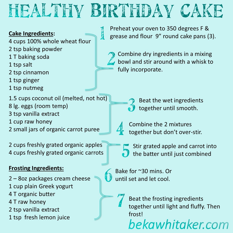 Healthy Toddler Birthday Cake recipe cake smash Pinterest