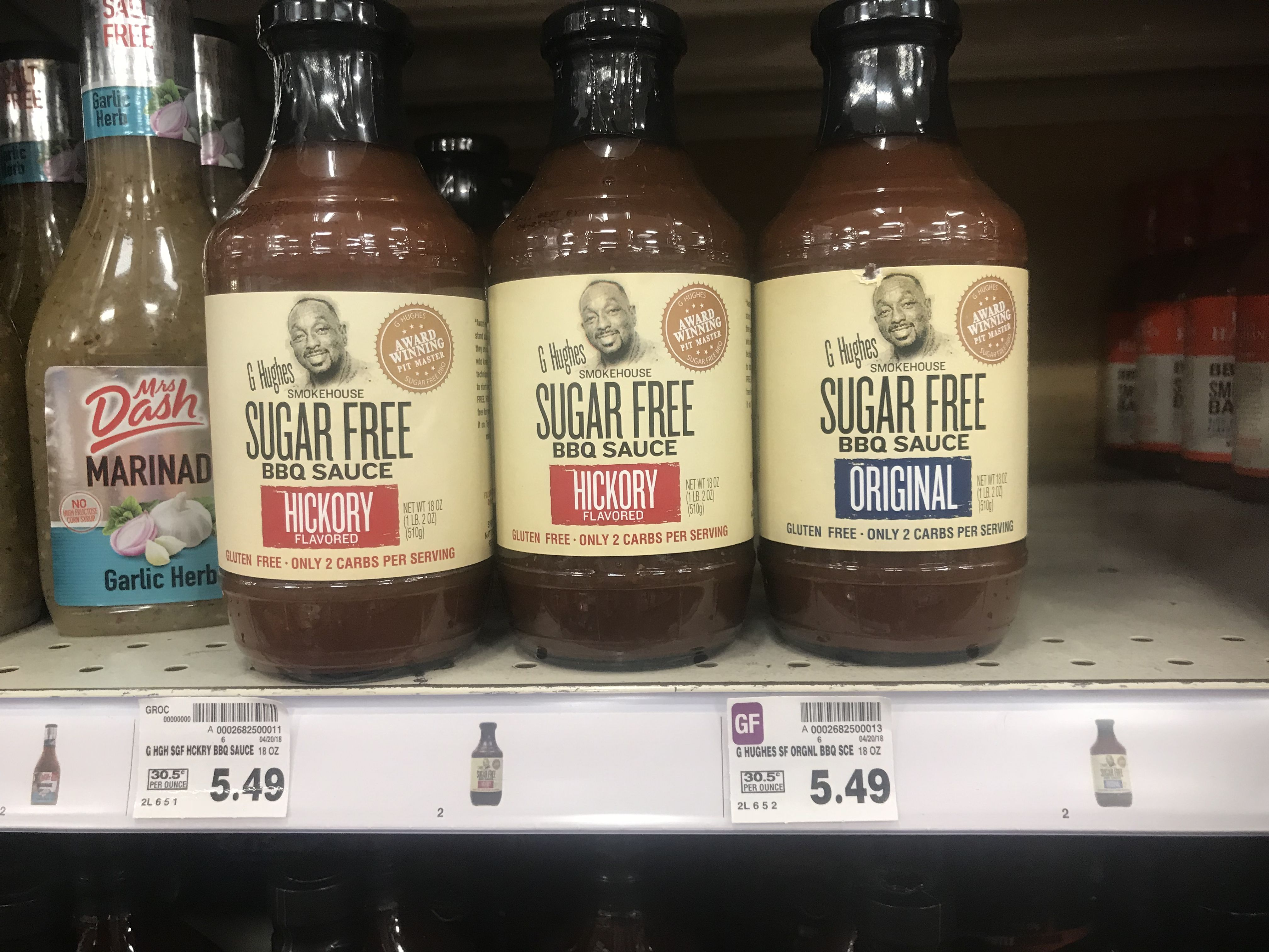 The Only Sugar Free Bbq Sauce At My Local GerbesKroger