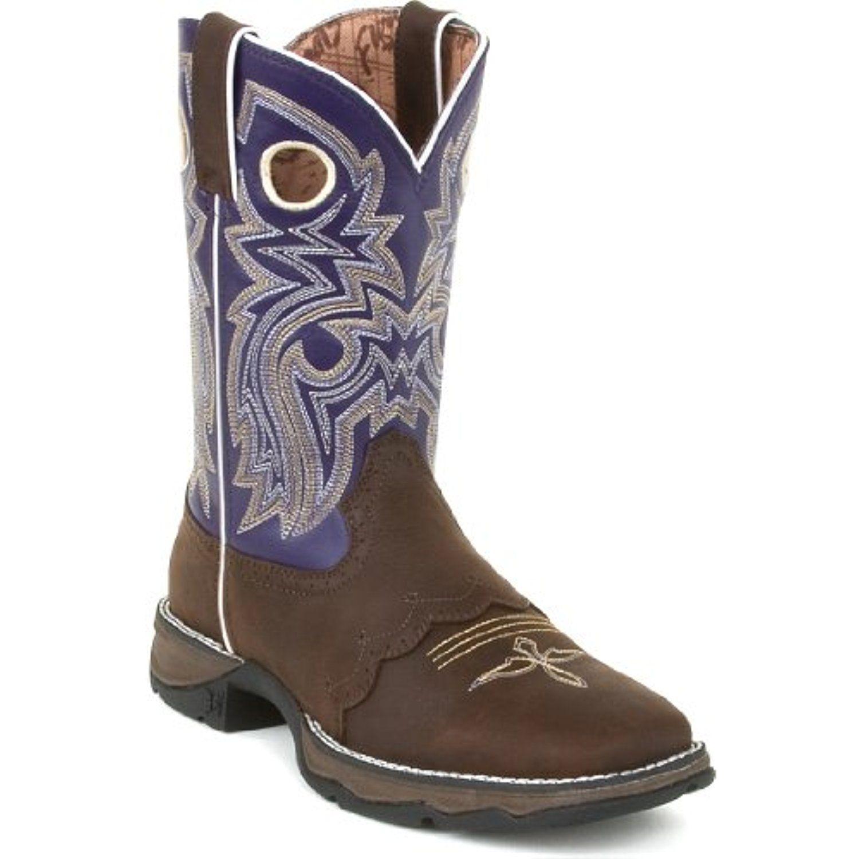 Durango Womens Blush Boots Flirt 10 Inch Saddle Lace N' Lace