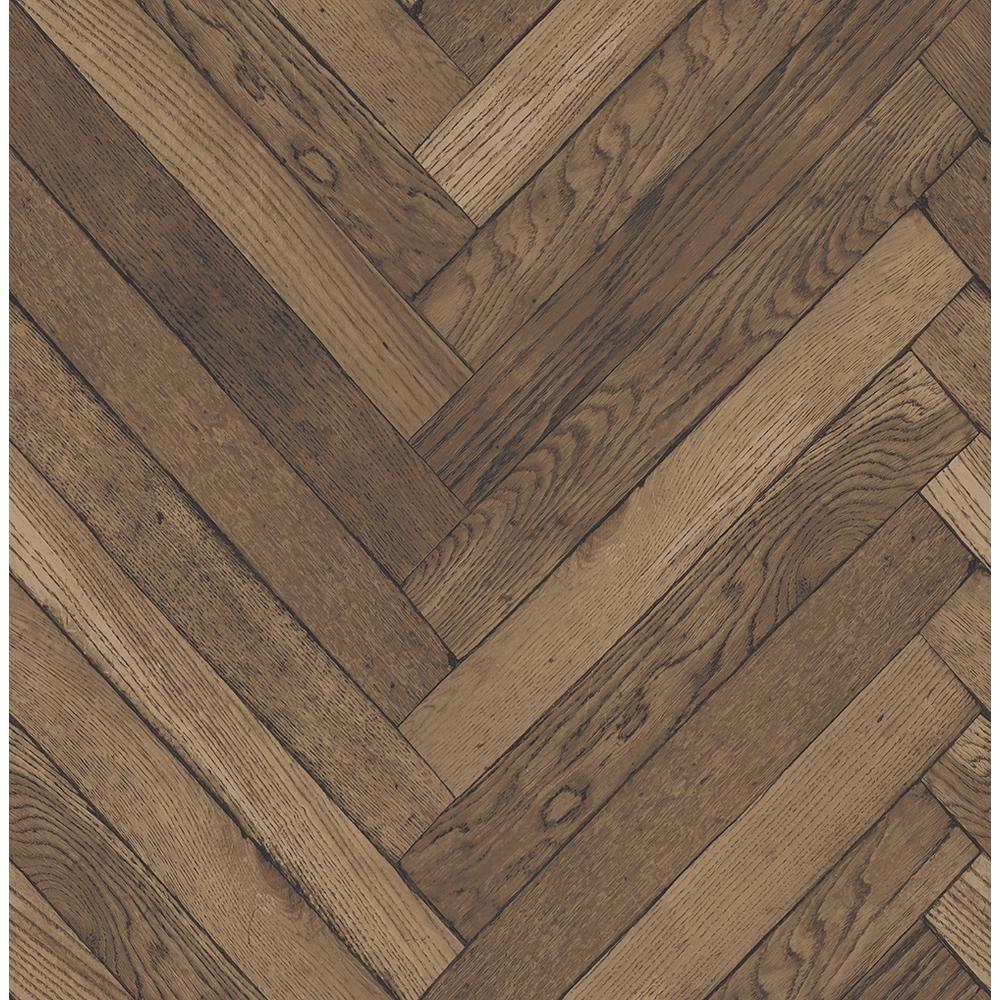 Brewster 8 in. x 10 in. Altadena Brown Diagonal Wood