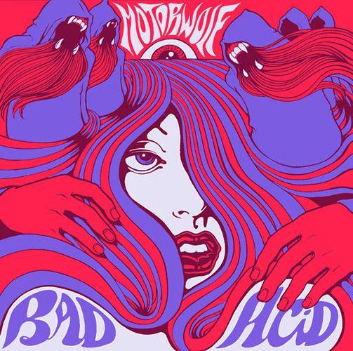 Cubierta del álbum Bad Acid, de Motorwolf 2006