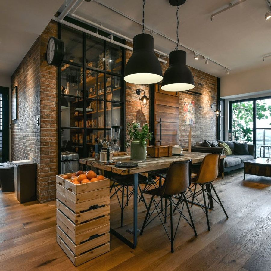 29 Awesome Industrial Style Decor Designs That You Can Create For Your Urban Living Space Industrial Style Decor Industrial Chic Decor Modern Industrial Decor