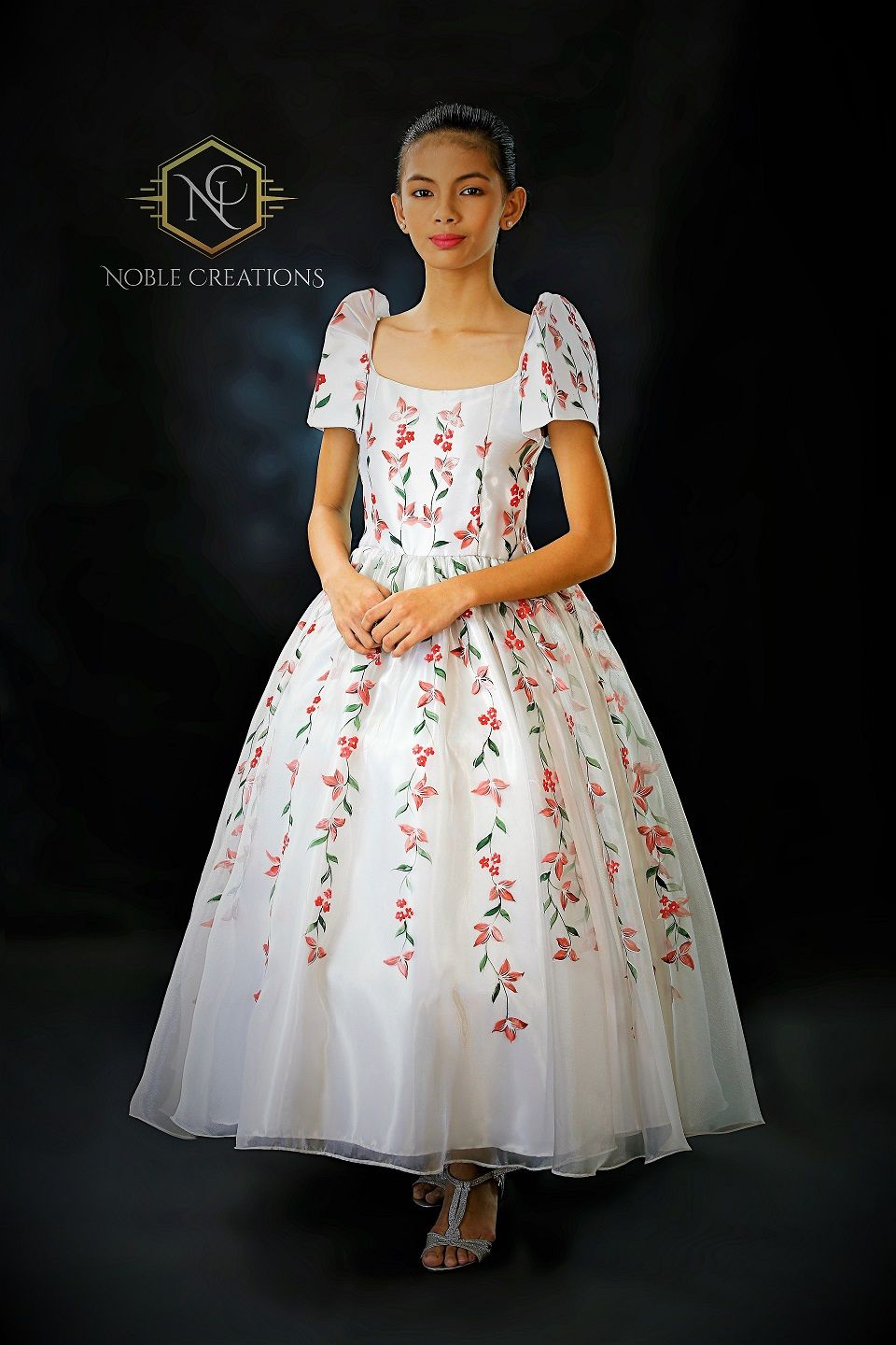 Filipiniana gown for Teens. | Filipiniana Magic | Pinterest ...