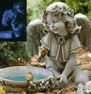 Feng Shui Water How To Attract Good Energies Angel Garden Statues Outdoor Garden Statues Garden Angels