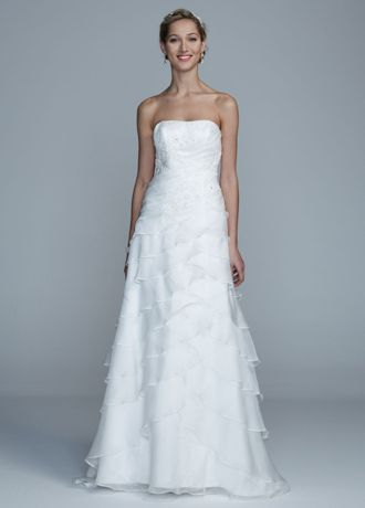 An exquisite gown that will keep you in the spot light on your ...