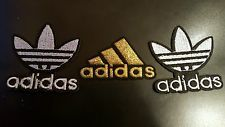 3 Adidas Patch Logo Patch Embroidered Iron On Patches 2 X 2 2