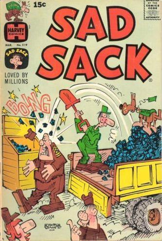 Sad Sack Cartoon   Sad Sack #219