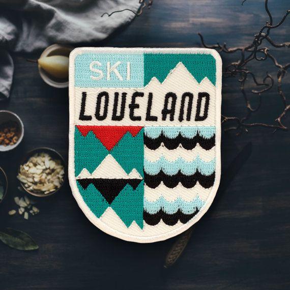 Loveland Ski Resort (Colorado) Patch (Free Shipping US)