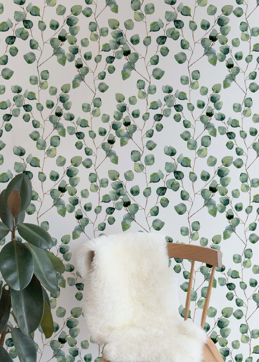 Removable Wallpaper Cactus Wallpaper Eucalyptus Peel And Stick Etsy Temporary Wallpaper Best Removable Wallpaper Removable Wallpaper