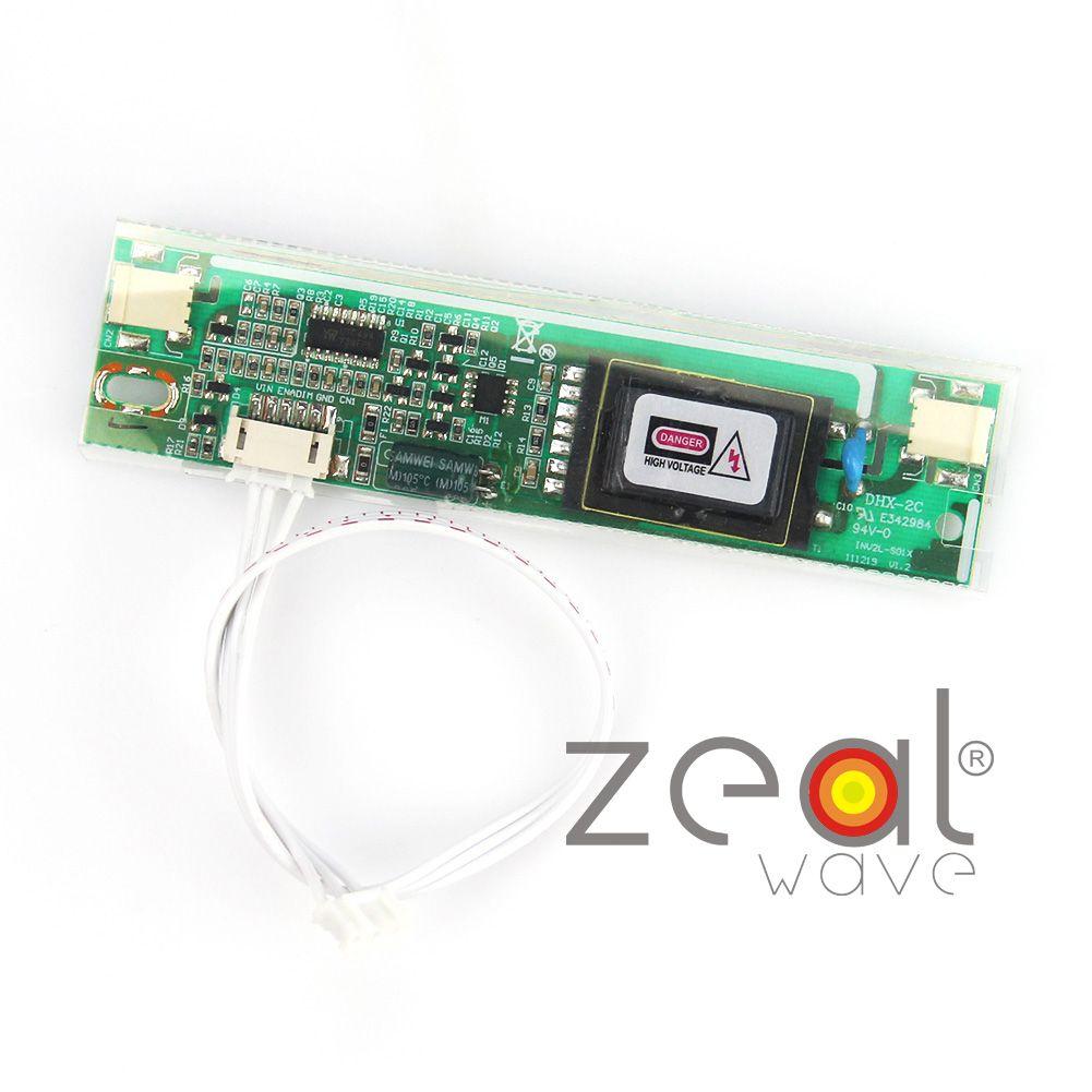 12V Input 2pins 3 5mm 2 Lamps Universal CCFL LCD Backlight Inverter
