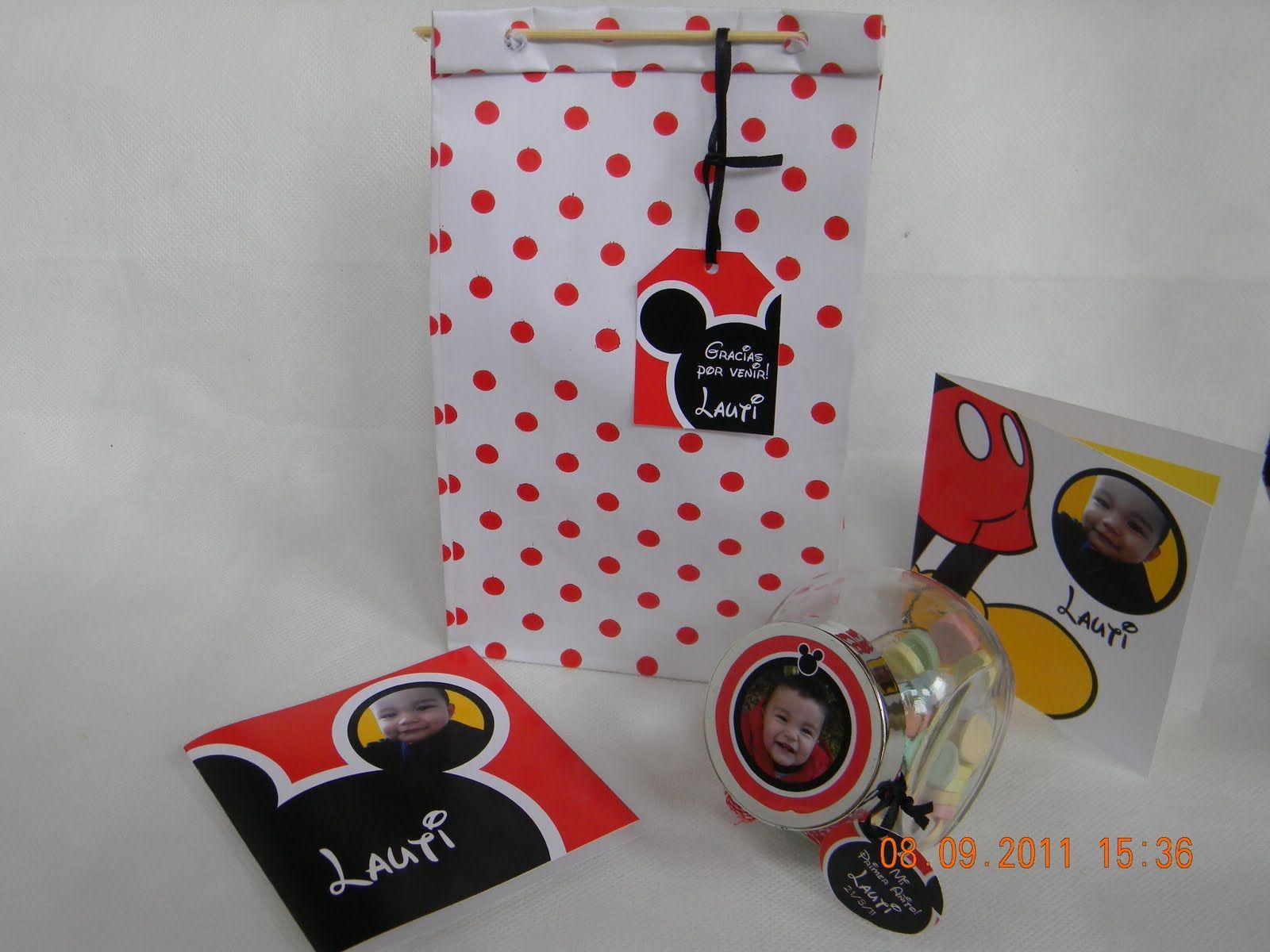 Cotillón Mickey
