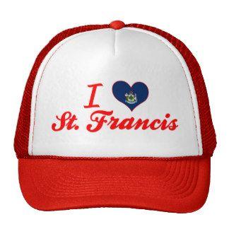 I Liebe St Francis, Maine Baseball Cap