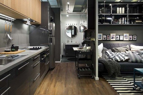 One Of The Latest Sleek Ikea Kitchens Designed Especially For A