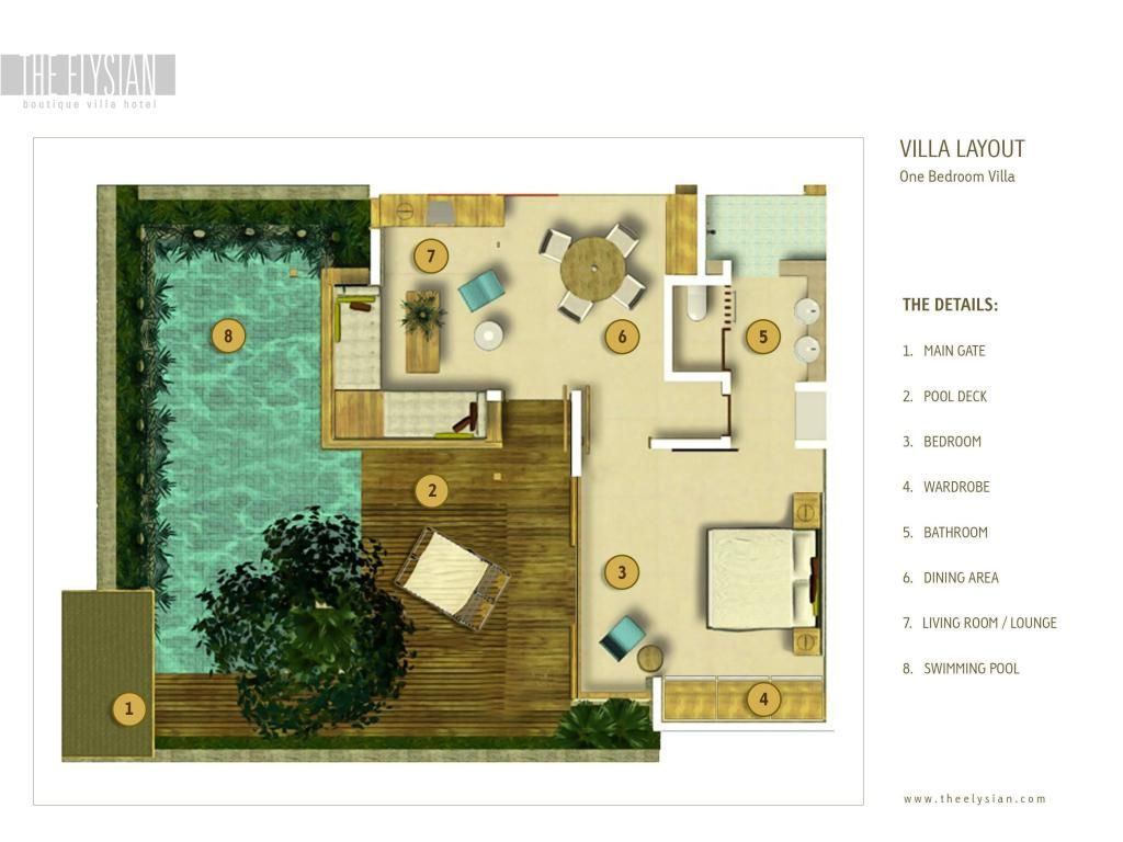 The Elysian Boutique Villa Hotel In Bali Room Deals Photos Reviews Resort Design Plan Small Villa Resort Design