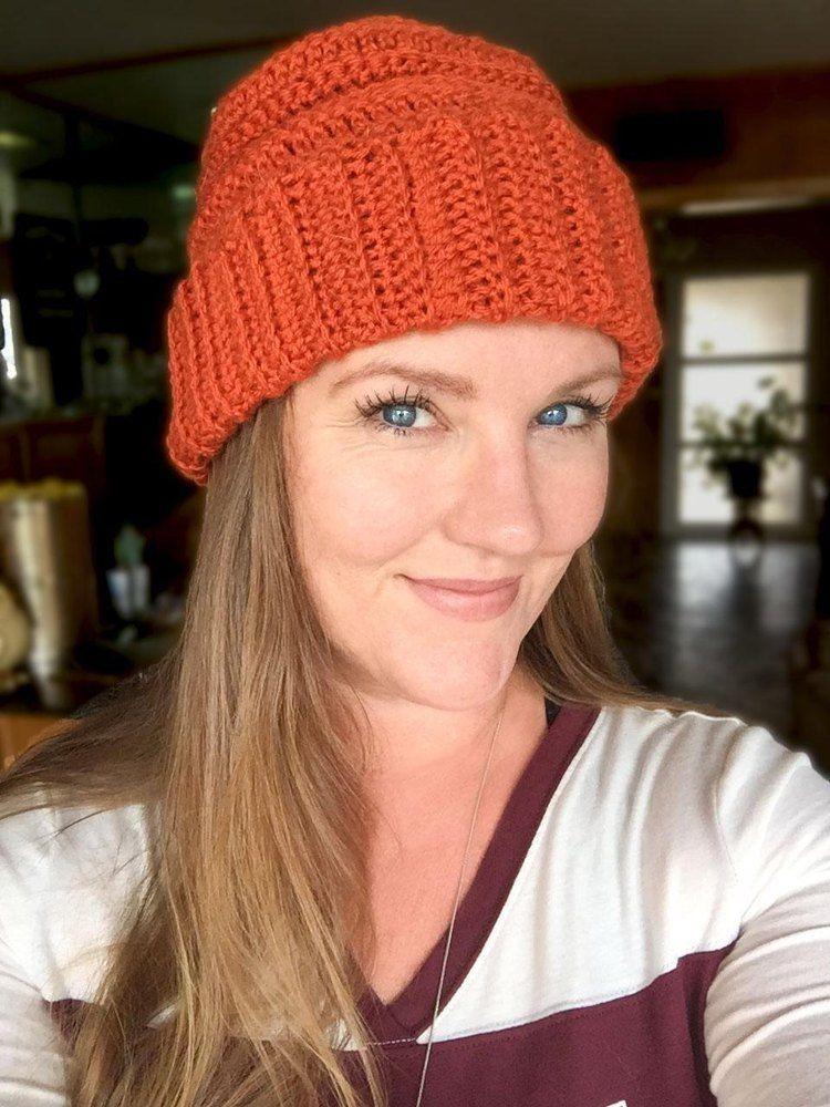 The Woodrow Unisex Crochet Beanie Crocheted Hat Patterns
