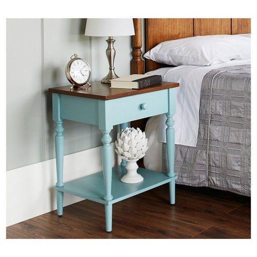 Isabella Nightstand Target Bedroom Night Stands Furniture Blue Nightstand