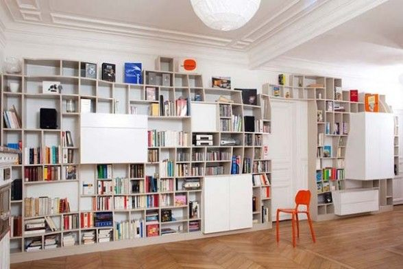 Fascinating Storage Space for Books