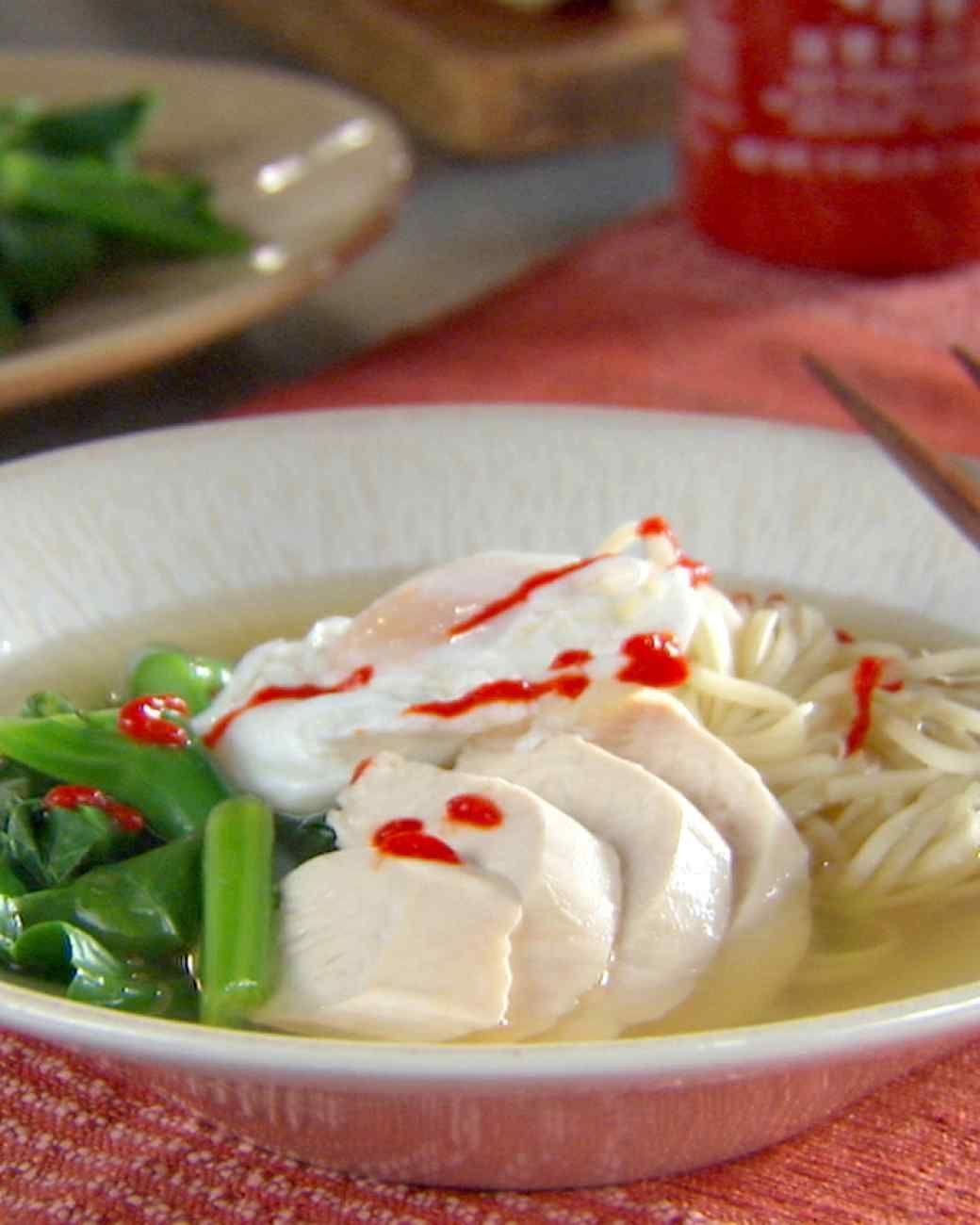 Chinese Egg Noodle Soup   Egg noodle soup recipe, Soup ...
