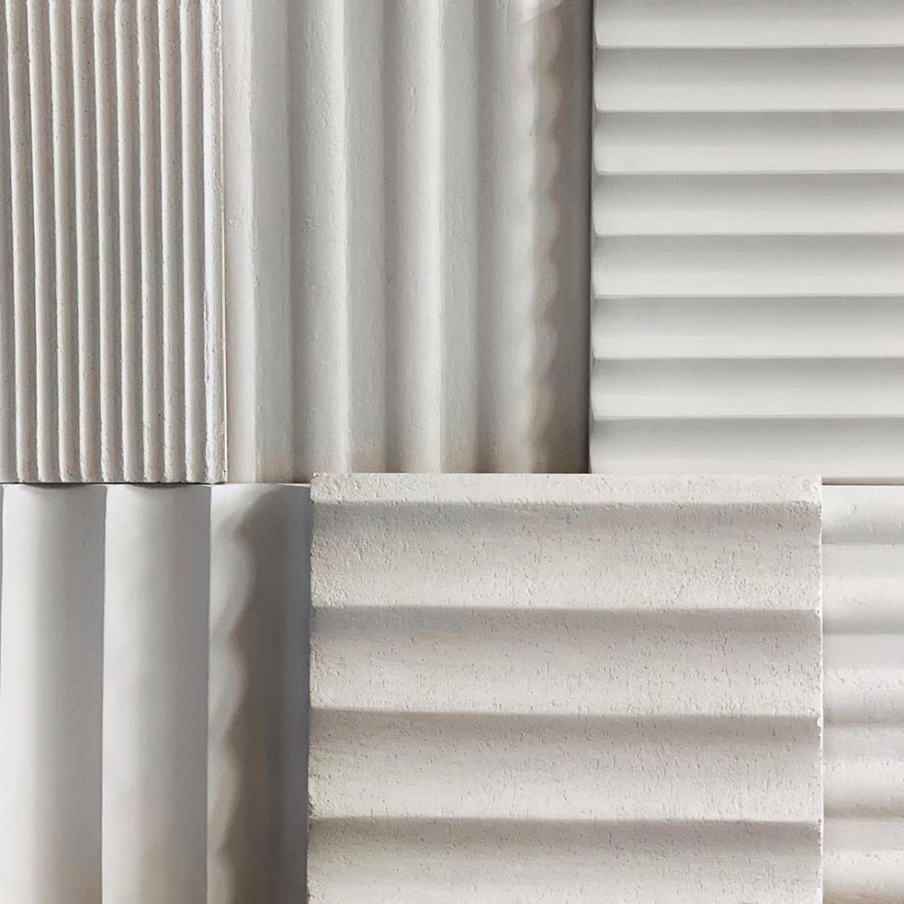 Fluted Architectural Detailing On Kitchen Islands And Wall Paneling Architectural Architektur Detailing Flut In 2020 Interior Wall Paneling Architectural Columns