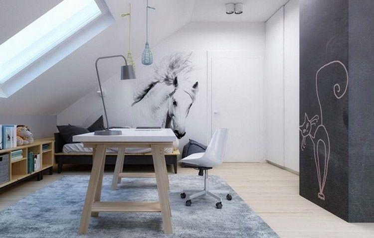 Camere Per Ragazzine : Camerette per ragazzi con pareti decorate camera ragazzi