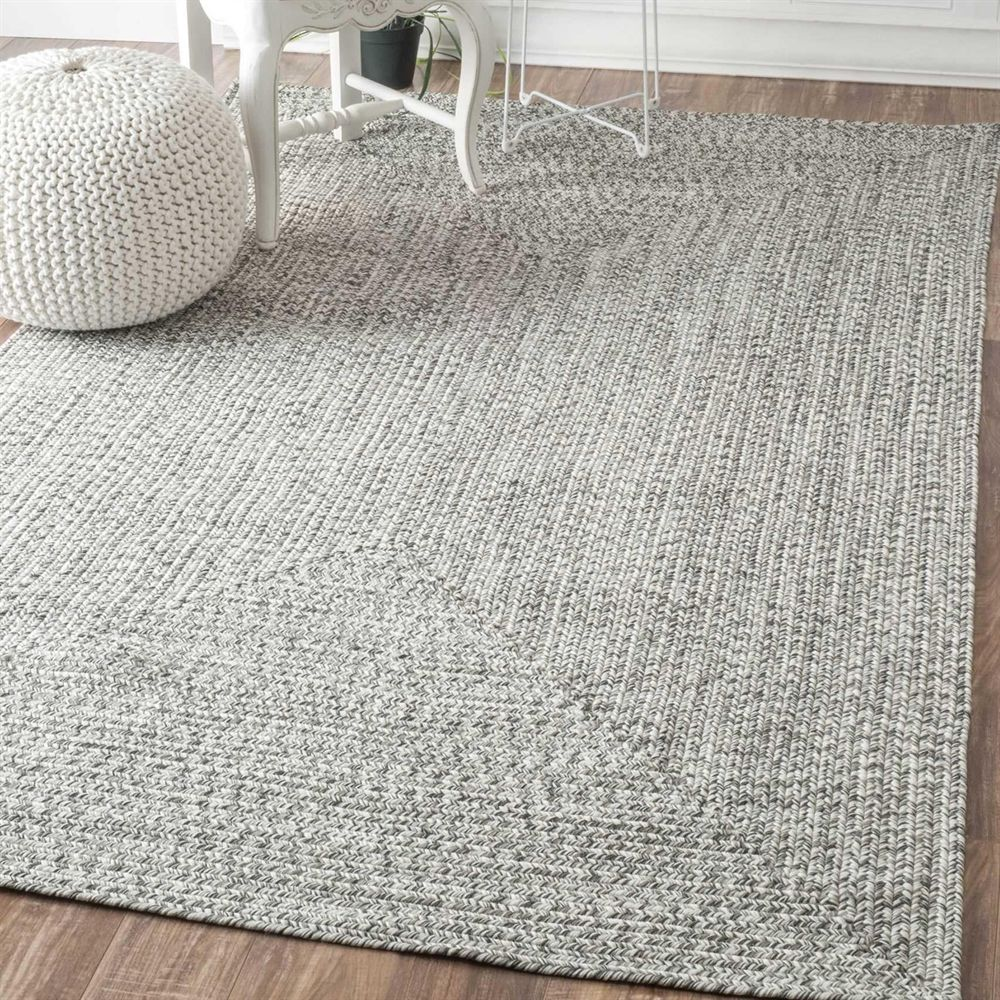 Nuloom Hjfv01c Salt And Pepper Braided Lefebvre Area Rug At Lowe S Canada Find Our