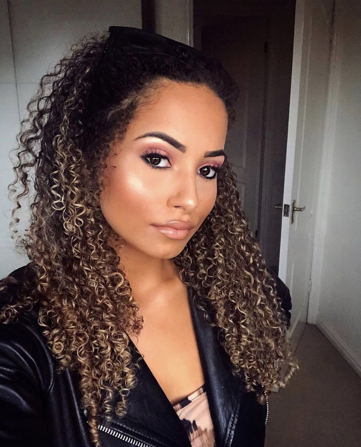 Amber Rose Gill Love Island 2019 Curly hair inspiration