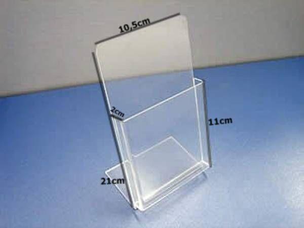 Porta Folheto Folder Kit Com 10 Pecas Valor Unit R 12 00