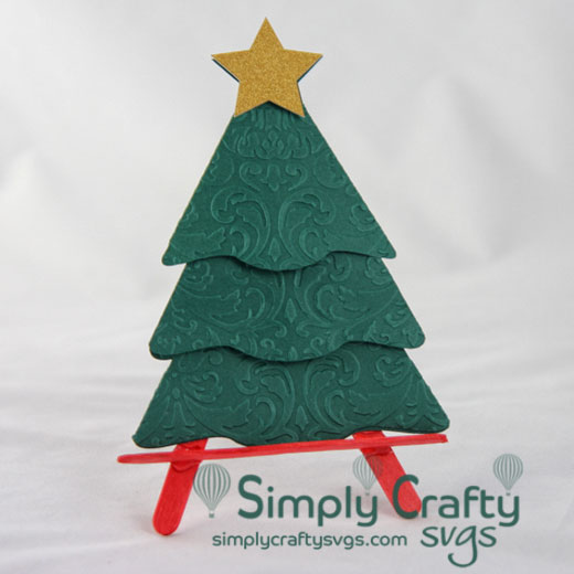 Christmas Tree Gift Card Holder Svg File Simply Crafty Svgs Christmas Tree Gift Card Holder Gift Card Holder Christmas Tree With Gifts