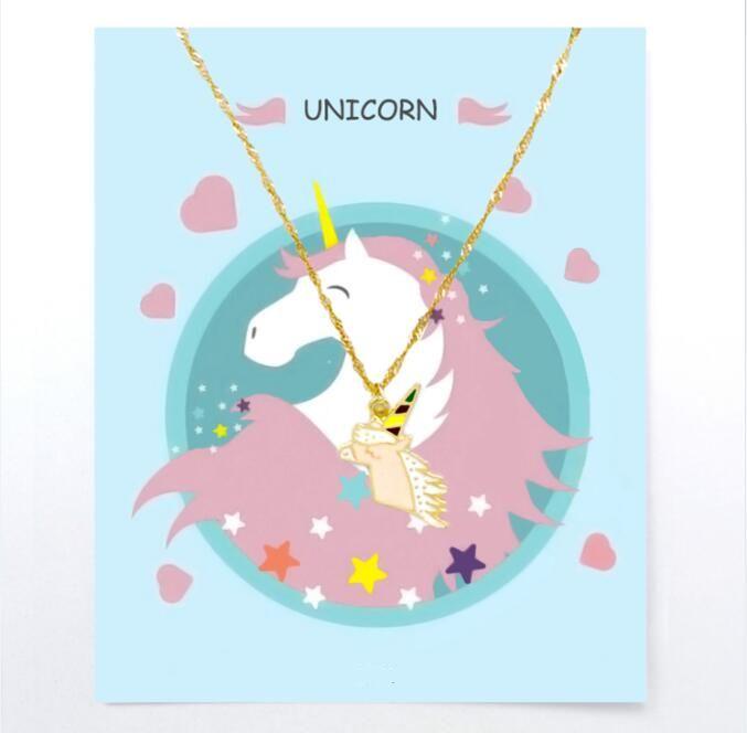 Unicorn Necklace For Children Unicorn Necklace Unicorn