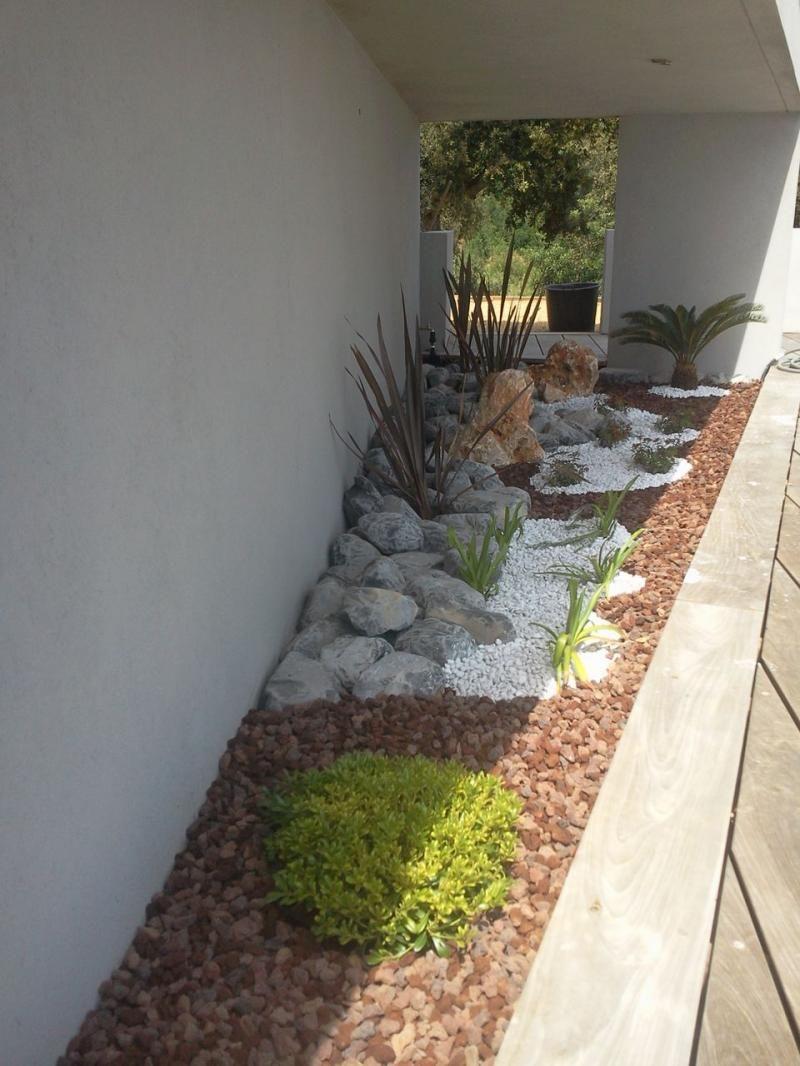 Deco Jardin Avec Galets Blancs