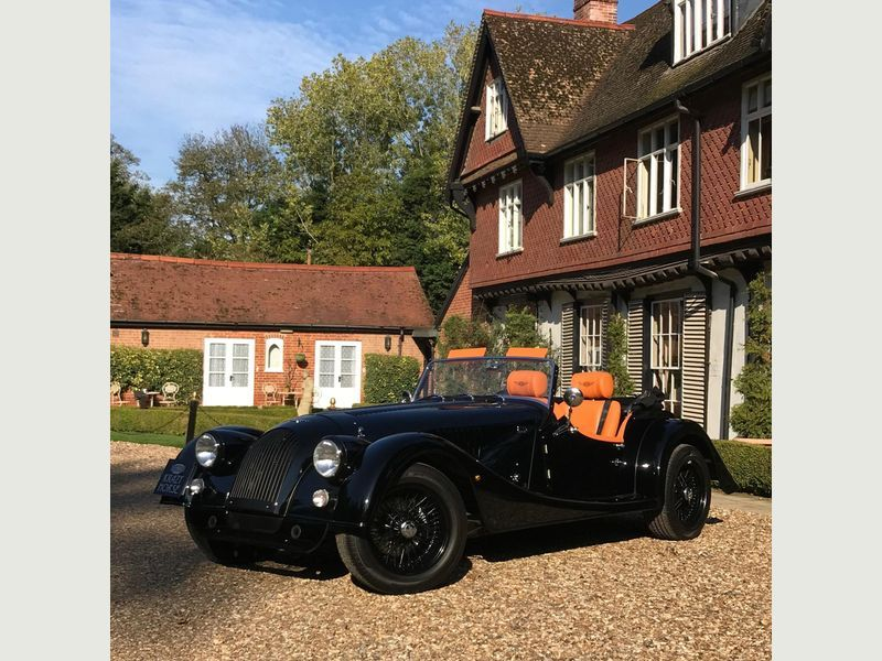 2018 Black MORGAN PLUS 4 2 0 2dr for sale for £52995 in Bury