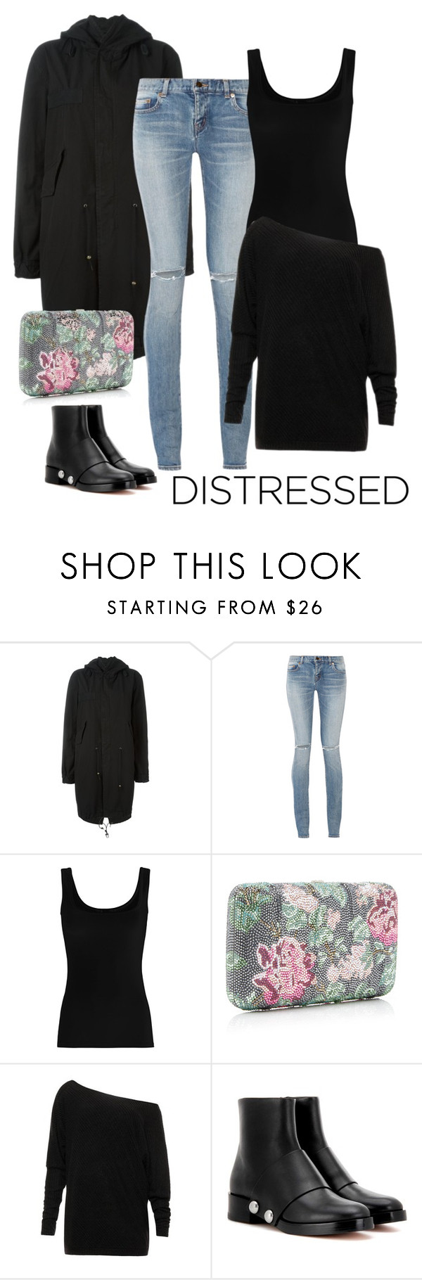 """""""Senza titolo #1502"""" by granatina ❤ liked on Polyvore featuring Mr & Mrs Italy, Yves Saint Laurent, Twenty, Alexander Wang and jeans"""