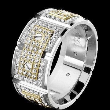 The Expensive Men Wedding Rings With Diamonds