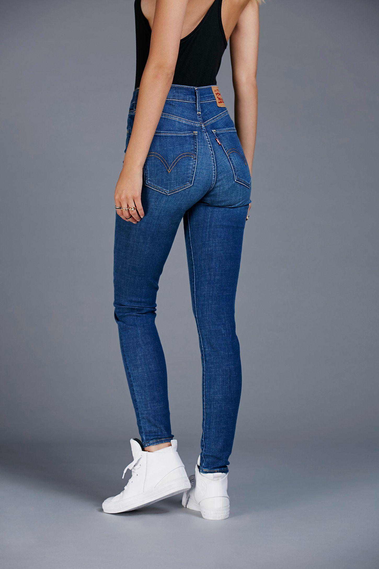 cc6b7f770e1 Levi s Mile High Super Skinny Jeans en 2019