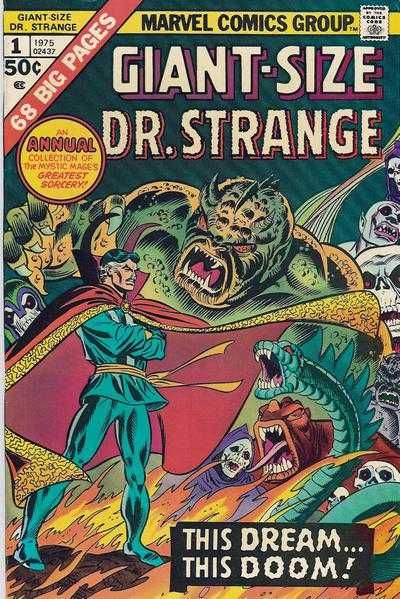 Howie's World of Comics: Giant Size Dr Strange #1 (Marvel/1975)
